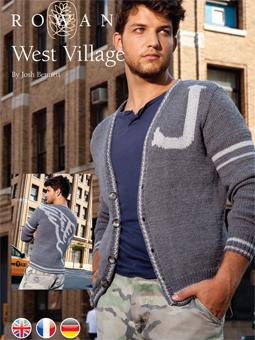 West Village Free Knitting Pattern for Men
