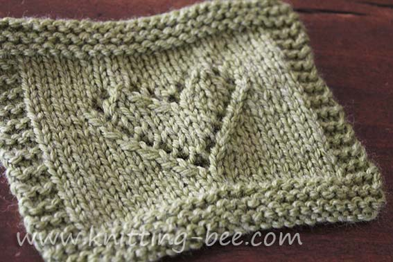 Knitting Heart Pattern : Awesome heart knitting stitches ⋆ bee