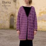 Barra fairisle coat free knitting pattern