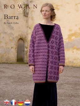 fairisle coat free knitting pattern