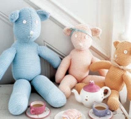 Free Teddy Bear Knitting Patterns 22 Free Knitting Patterns