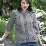 Adrienne Jacket Free Knit Pattern