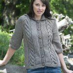 Adrienne Jacket Free Knit Pattern
