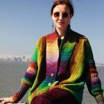 Agata Free Cardigan Knitting Pattern