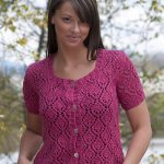 All Over Lace Free Cardigan Knitting Pattern