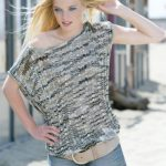 Amalia Free Crochet Top with Ribbed Stitch