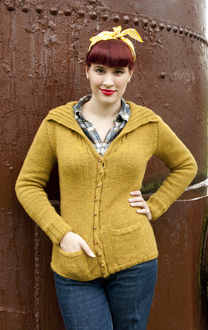 Armande Cardigan Free Knit Pattern