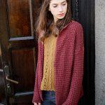 Bacca free cardigan knitting pattern