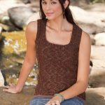 Back to School Cable Vest Free Knitting Pattern