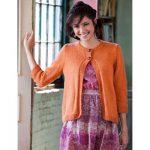 Bernat Cardi Gras Free Intermediate Women's Knit Pattern