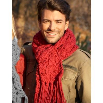 Bernat Easy Scarf to Knit Free Knit Pattern for men