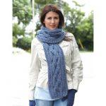 Bernat Zig Zag Scarf Lace Knit Pattern