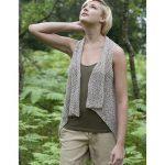 Berroco Seabrook free knitted vest pattern