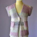 Cake Cardi Free Knitting Pattern
