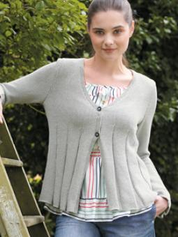 Cardigan Free Knitting Pattern Muse