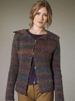 Cardigan Free Knitting Pattern Rye