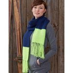 Caron Bold Stripes Scarf