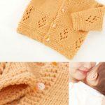 Cashmere baby cardi knitting pattern