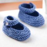 Classic Baby Jane Booties to Knit for Free