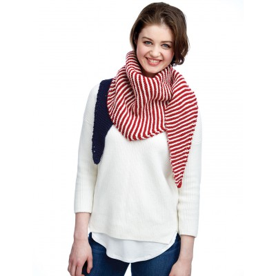 Color-Block Kerchief