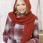 Comfy Hooded Scarf Free Knitting Pattern