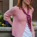 Corinne - Garter Stitch Cardigan Pattern