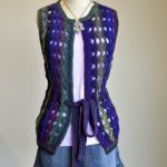 Cross the Night Sky Vest Free Knitting Pattern
