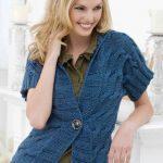 Cuff to Cuff Cardigan Free Knitting Pattern
