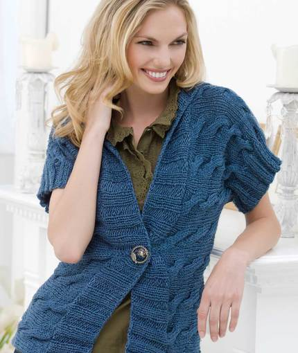 Cuff To Cuff Cardigan Free Knitting Pattern Knitting Bee
