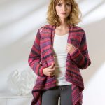 Drape Front Cardigan Free Knit Pattern