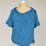 Drape Front Cardigan Free Pattern to Knit