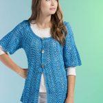 Free Waves Cardi Knit Pattern