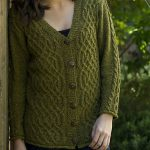 Graceful Cable Cardigan Free Knit Pattern