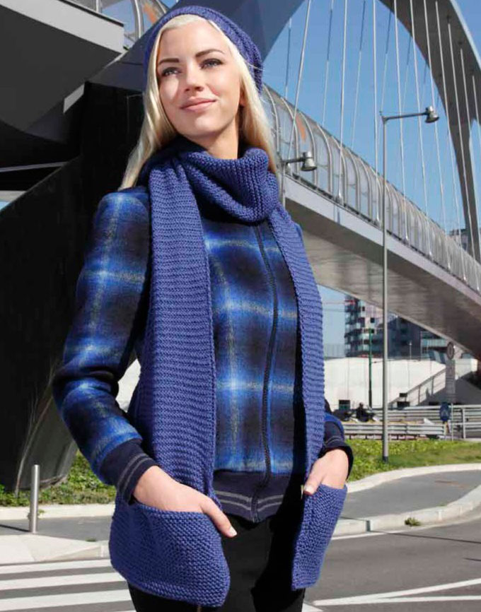 Free Free Scarf Knitting Patterns With Pockets Patterns Knitting