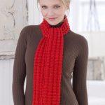 Heartwarming Knit Scarf Free Pattern
