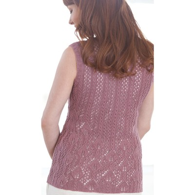 Heather Zoppetti Clematis Tunic vest lace 1