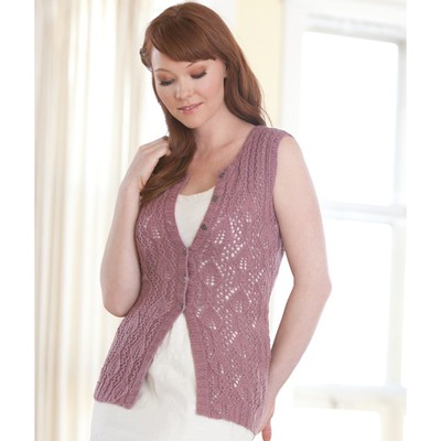 Heather Zoppetti Clematis Tunic vest lace