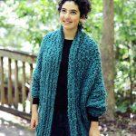 Insulate Cardigan Free Knitting Pattern