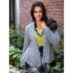 Intermediate Women's Swing Jacket Free Knit Pattern