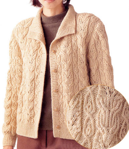 Japanese-Cabled-Cardigan-Free-Knitting-Pattern