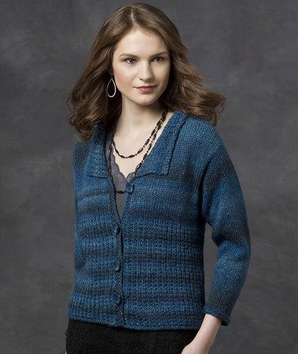 Kimberly Cardi Free Knit Pattern