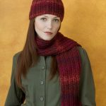 Knit & Purl Hat & Scarf Set Pattern