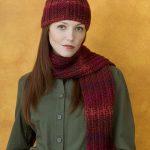 Knit & Purl Hat & Scarf Set Pattern