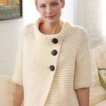Knit Ribbed Cardigan Free Pattern