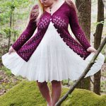 Krydda Free Lace Cardigan Knitting Pattern