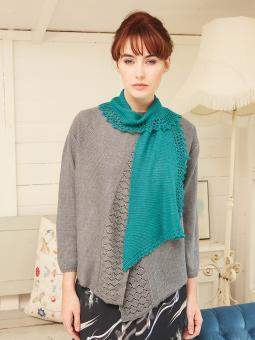 Laidley Free Scarf Knitting Pattern