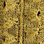 Legume Pod Stitch Scarf Knitting Pattern Free