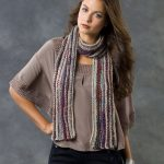 Lengthwise Knit Scarf Free Pattern