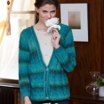 Long Cable Cardigan Free Knitting Pattern