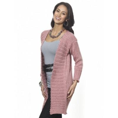 Long & Lean Cardi Free Knit Pattern